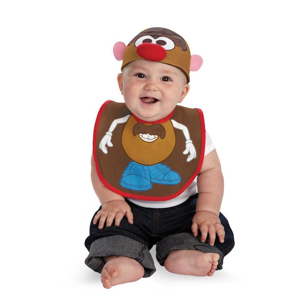 Mr. Potato Head Mr. Potato Head Bib & Hat Child Infant Costume
