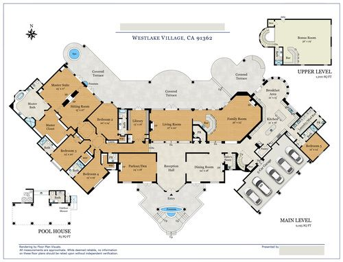 Location Westlake Village Ca Property Type Single Family Home Size 10 480 Sq Ft Ord How To Plan Floor Plans Florida House Plans