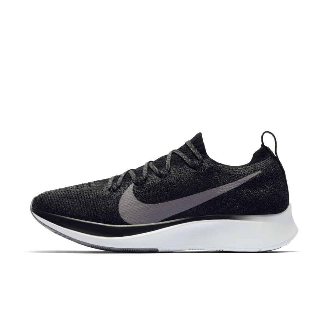 separation shoes 08deb dfa2a Nike Zoom Fly Flyknit Womens Running Shoe Size 5 (Black)