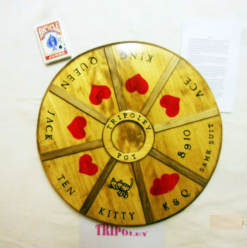 Fantastic Details About Tripoley Board Game Hand Crafted All Wood On Download Free Architecture Designs Scobabritishbridgeorg
