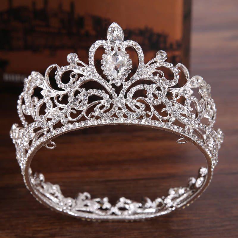 Bridal Crown Tiara Rhinestone Wedding Headpiece, Bridal Hair Accessory, Debutante Headpiece FREE SHIPPING