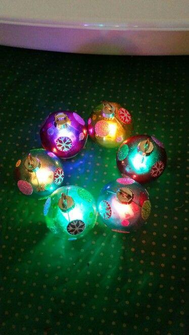 Luces navideñas para mesa