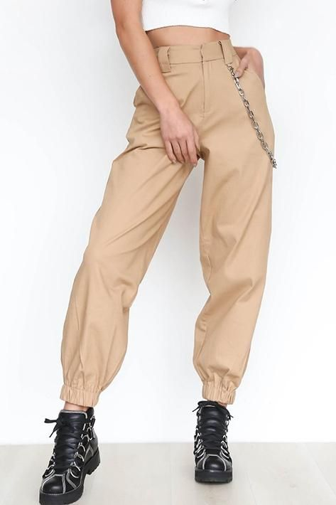 6636e94f21 Women Fashion Cool Street Chic Bella Sport Harem Casual Cargo Pants –  Lupsona