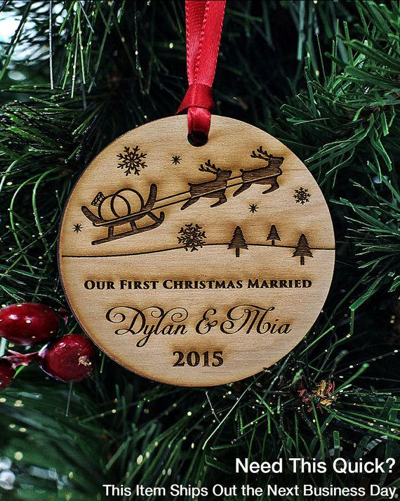 Custom Christmas Ornaments Handmade - Personalized Our ...