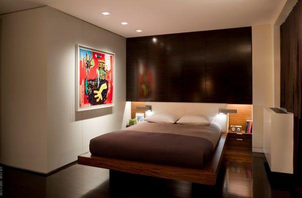 Attractive Room · Minimalist Recessed Lighting ...