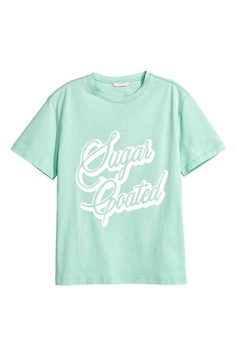 Camiseta amplia - Verde menta 19,99 > 13,99 EUR   H&M
