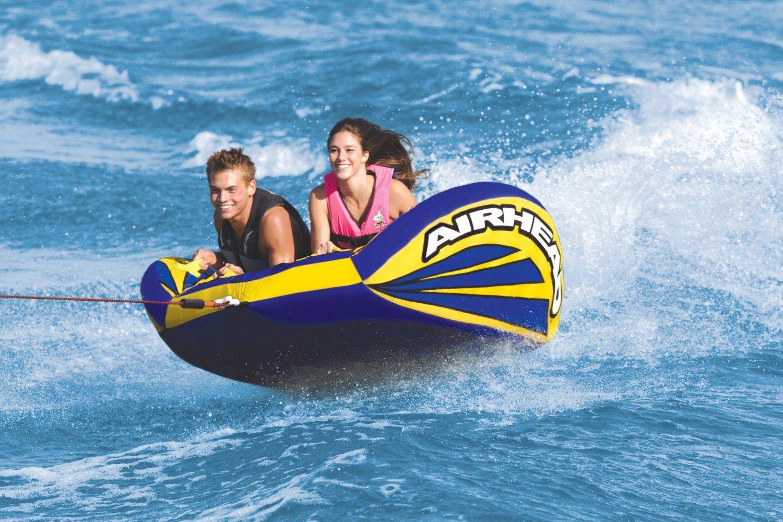 Amazon Com Airhead Ahmx V2 Matrix Towable Sports Outdoors 145 Towable Tubes Best Jet Ski Cool Boats