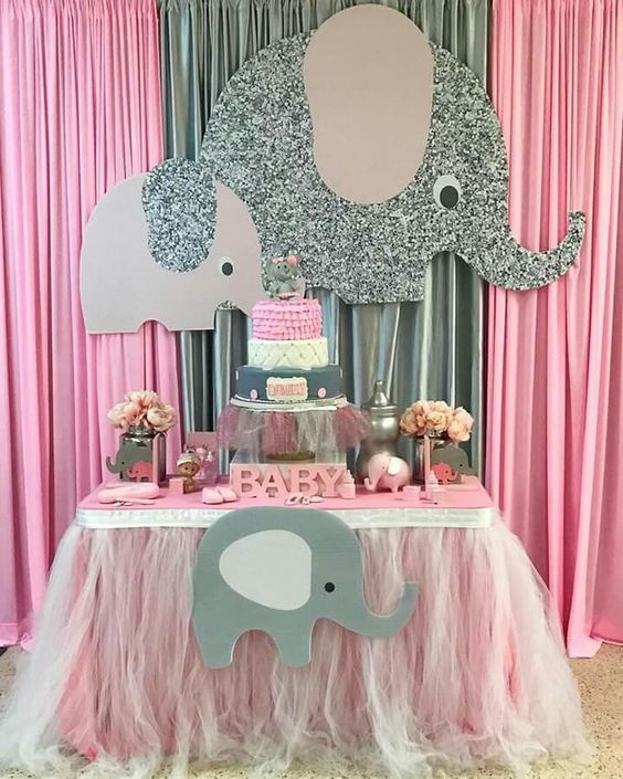 Baby Shower Nina Elefante Decoracion.Elefantes Para Decoracion Baby Shower Elefante Decoraciones