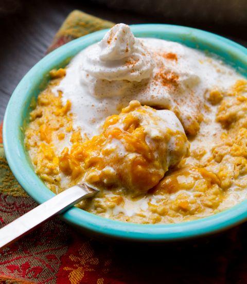 Pumpkin Pie Oatmeal Breakfast