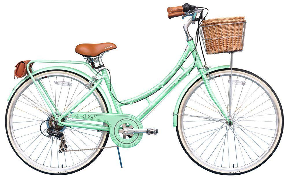Xds Nadine Ladies Retro 7 Speed Dutch Style City Bike Cruiser