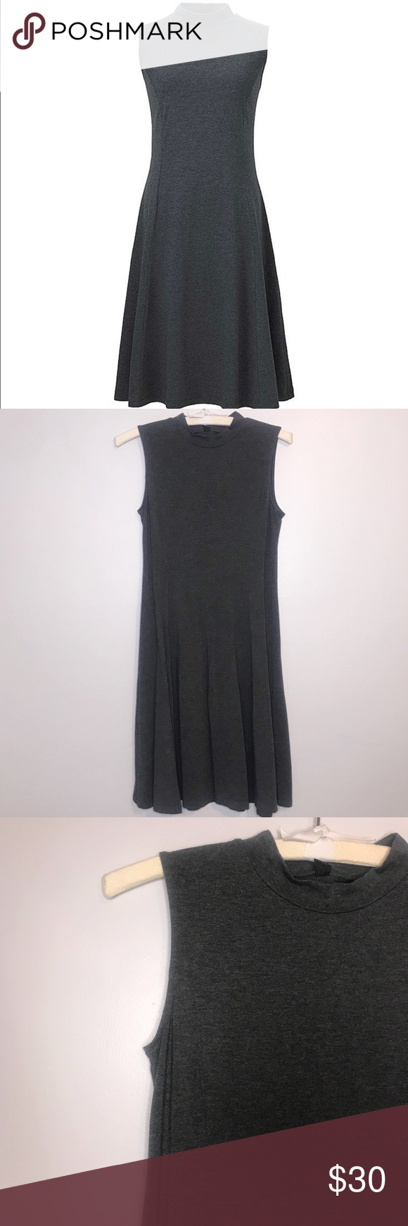 Uniqlo fit and flare sleeveless dress my posh picks pinterest