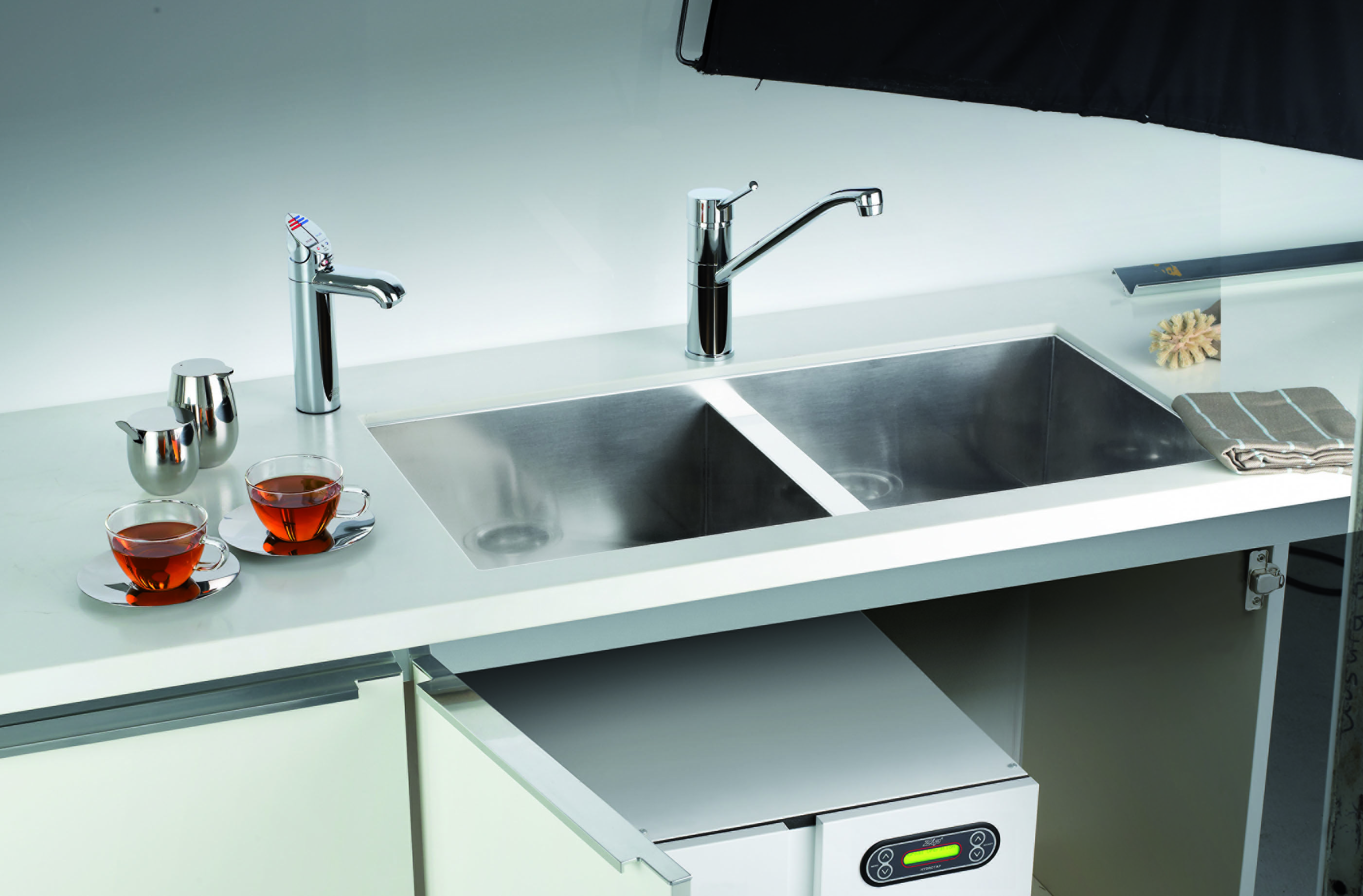 Zip HydroTap 4in-1 Separate boiling/chilled & hot/cold taps. The Zip ...
