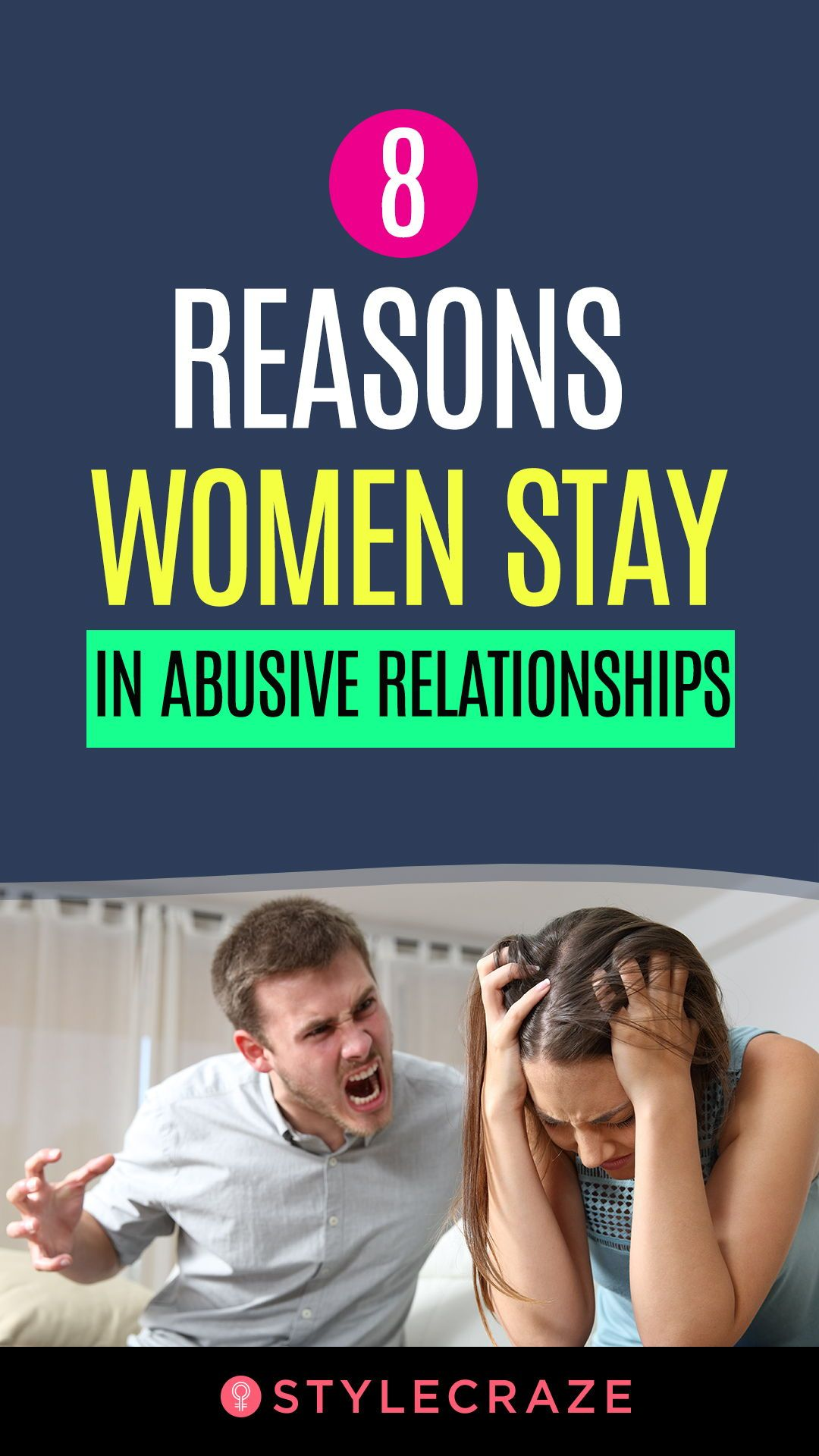 why women stay with controlling men