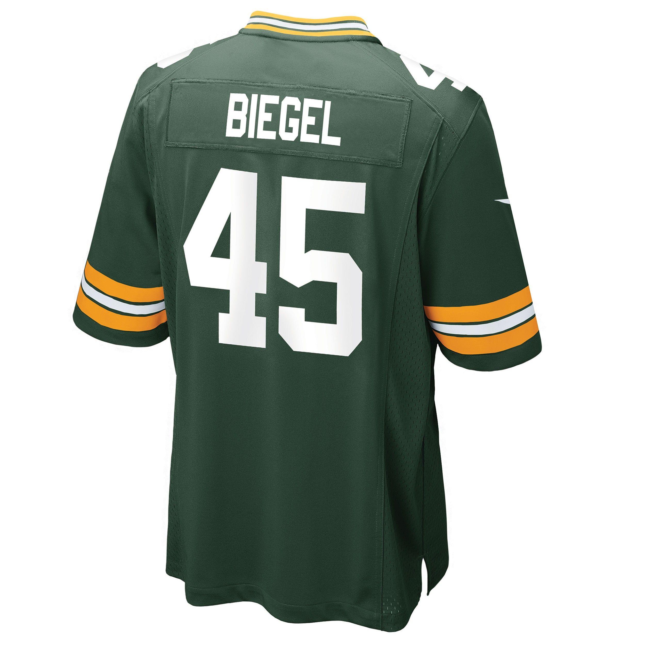 45 Vince Biegel Home Game Jersey Green Bay Packers Green Bay Packers Jerseys Packers Pro Shop