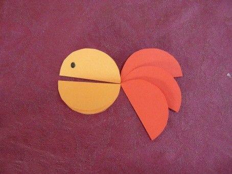 Petit poisson rond (Modèle n°2)