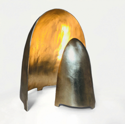 Echo Lamp The Invisible Collection In 2020 Bronze Lamp How To Make Light Bronze