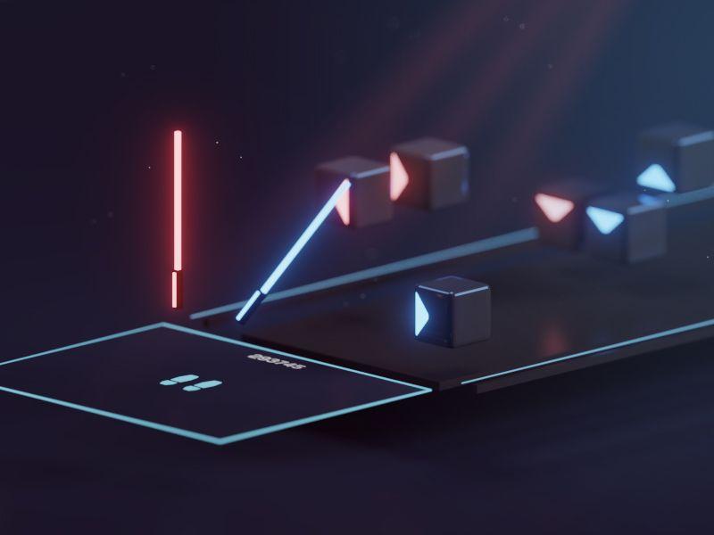 Beat Saber Game Inspiration Beats Interface Design