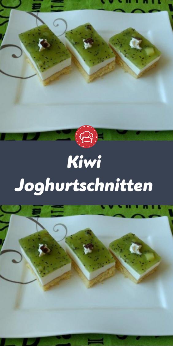 Photo of Kiwi-Joghurtschnitten – 110recipes