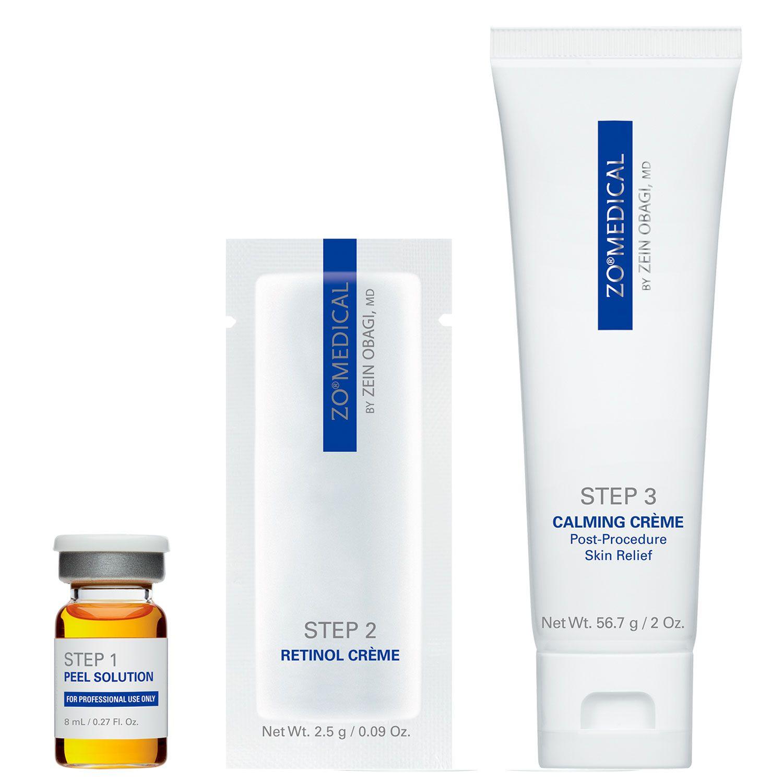 ZO Skin 3Step Peel Kit Big Format Skin relief, Chemical