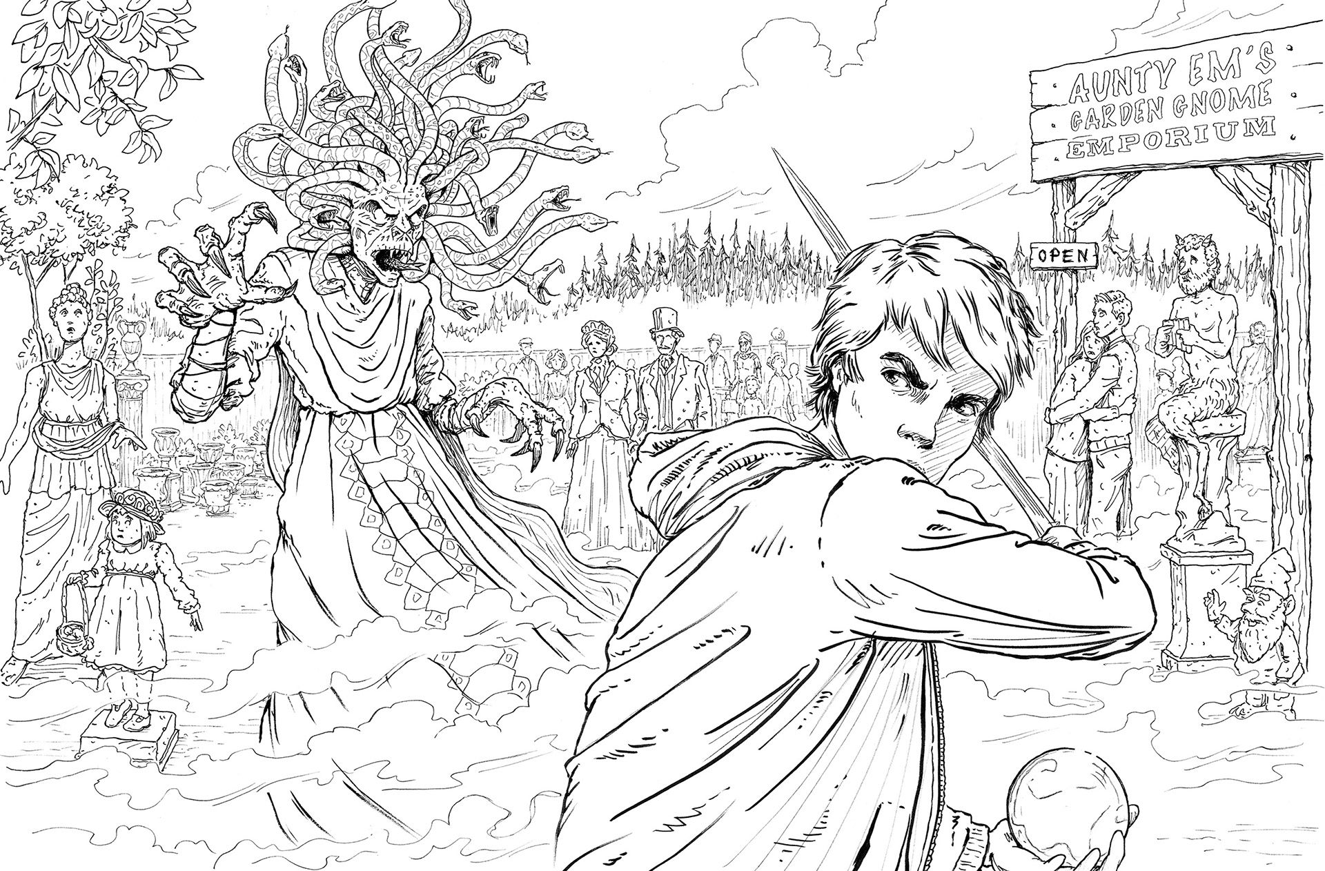 - Pin By Salty On olympus Coloring Books, Percy Jackson Art