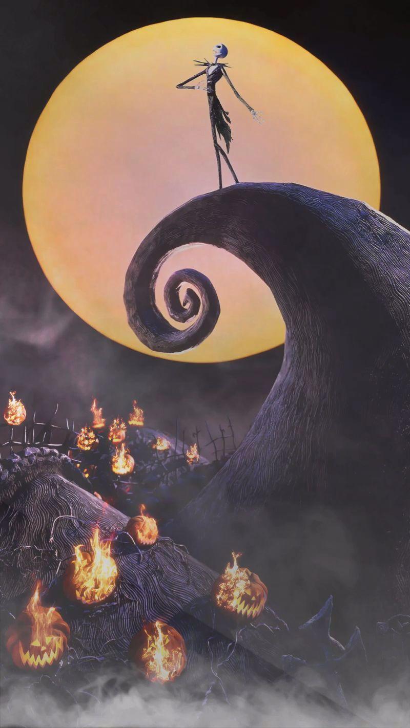 Animated Video Gif Created By Sherilynn Gould The Nightmare Before Christmas Nightmar En 2020 Pantallas De Halloween Fondo De Pantalla Halloween Fondo De Pantalla Gif