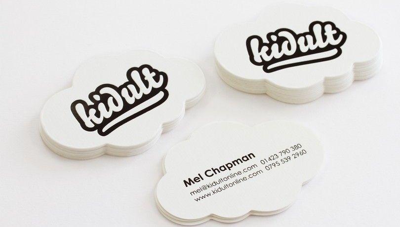 Cloud Shape Business Card