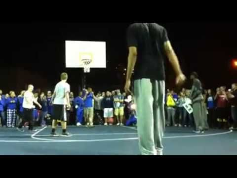 Anthony Davis DESTROYS college trash talker!! - YouTube