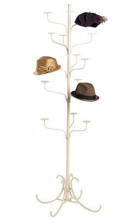Boutique Ivory 5 Tier Hat Display Rack Hat Display Home Accessories Stores Diy Hat Rack