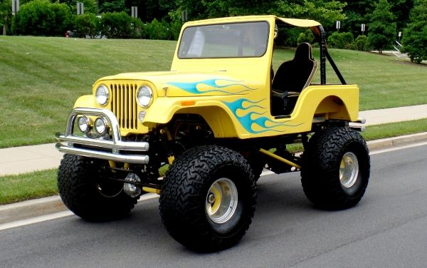 1966 Jeep Cj5 Over The Top Custom Show Jeep Jeep Cj Jeep Cj5 Jeep