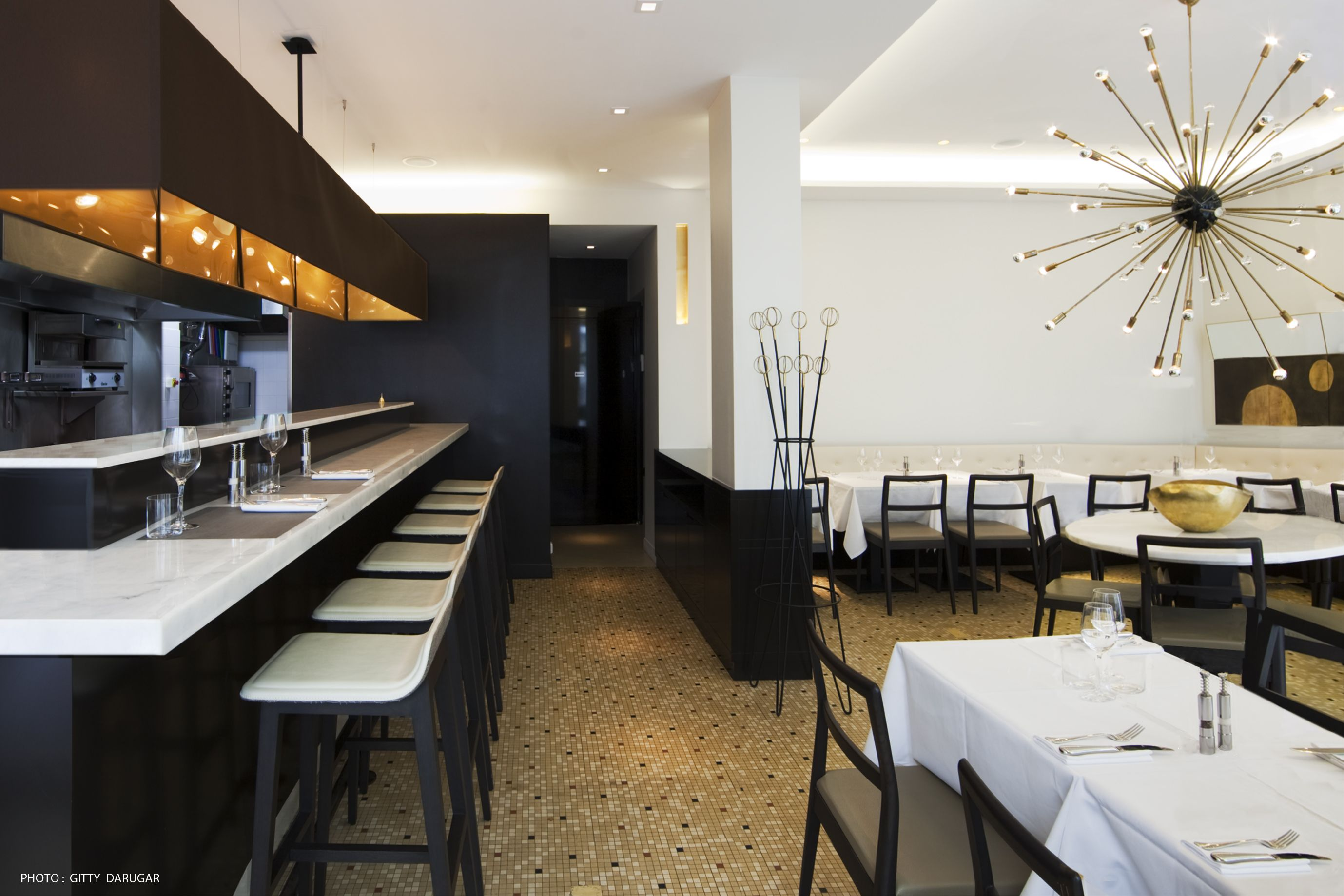 09 Coupe Architecture Interieur Aménagement Restaurant Espagnol