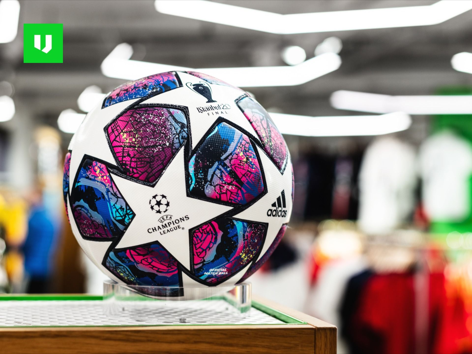 Cancelar Imperio Inca Poner  CL-Ball in stores now 🛍️ in 2020 | Adidas football, Football equipment,  Soccer balls