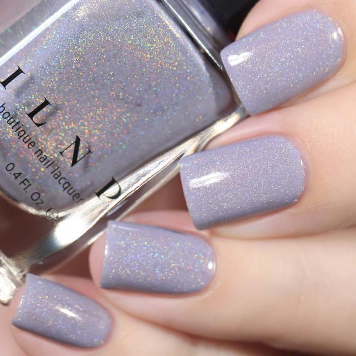 ASAP - Soft Periwinkle Blue Holographic Nail Polish by ILNP