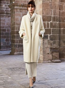 4c0f927f5aa Bergen Alpaca Knit Coat by Peruvian Connection - Pinned from iCatalog™
