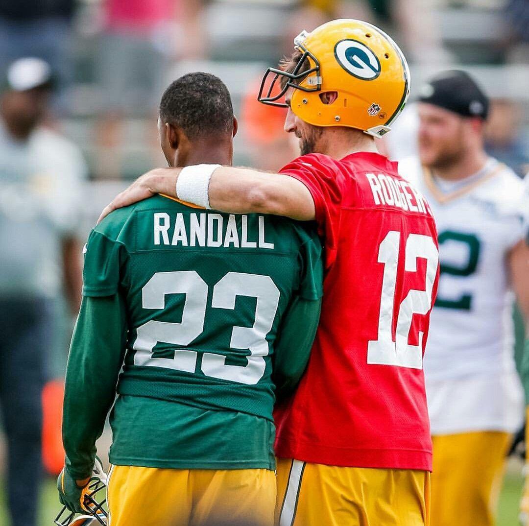 Damarious Randall Aaron Rodgers Green Bay Packers Green Bay Packers