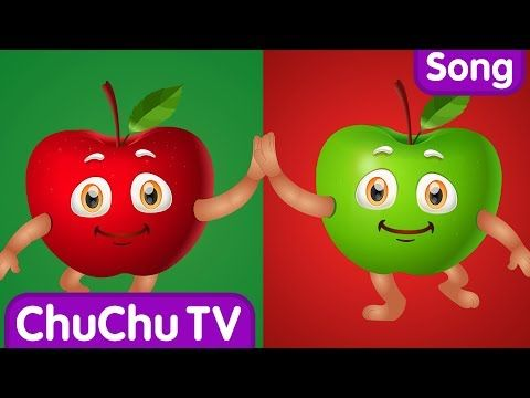 Apple Song (SINGLE) Learn Fruits for Kids Educational