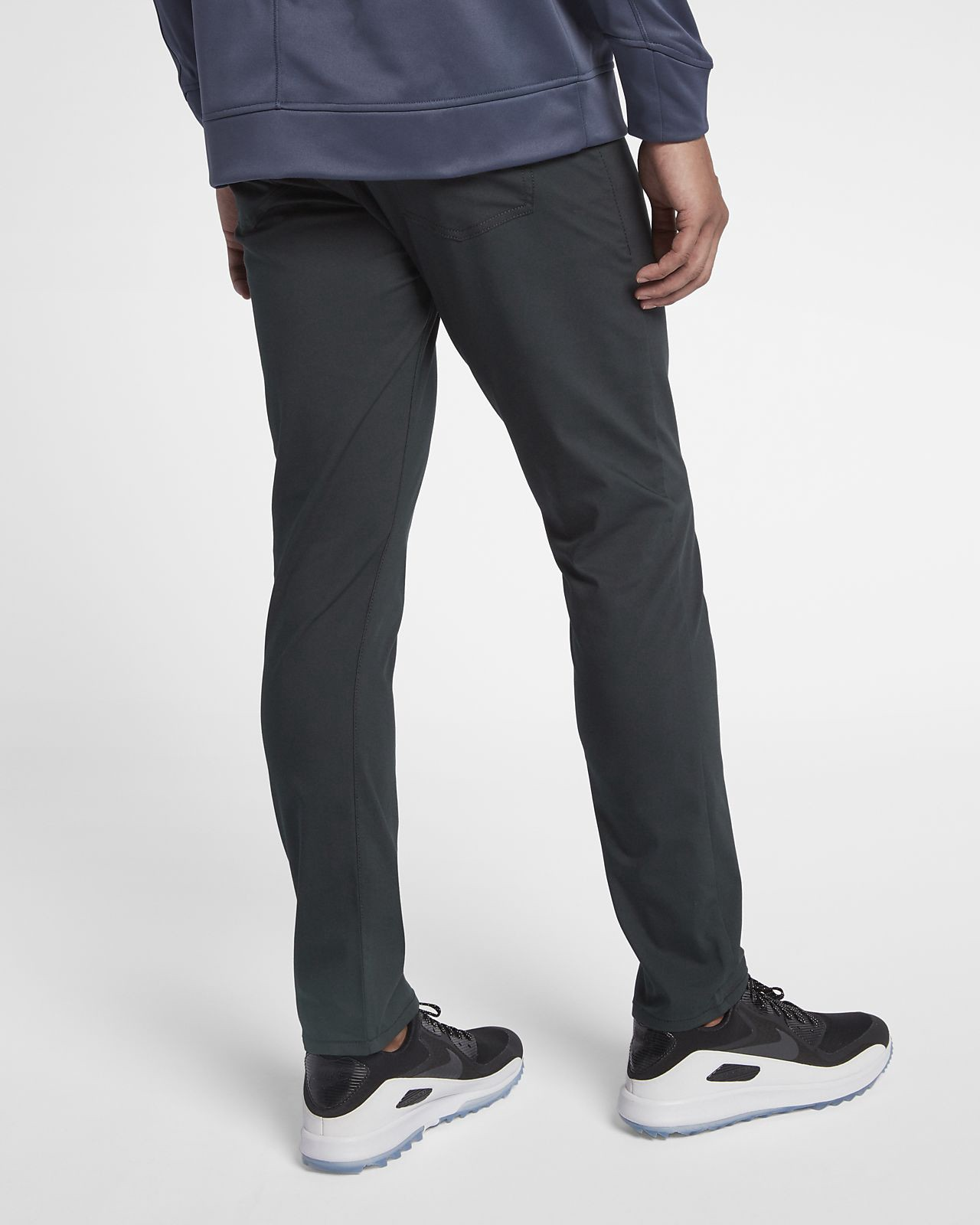 factory outlet better find workmanship Nike Flex 5 Pocket Men's Slim Fit Golf Pants - 30/30 Silver ...