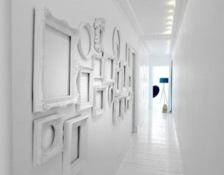 marcos blancos   Diseño   Pinterest   Marcos blancos, Marcos y Pared ...