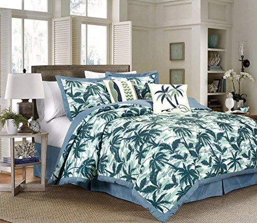 Palm Tree Bedding Sets Comforters Quilts Beachfront Decor Comforter Sets Tropical Bedding Sets Bedding Sets Palm tree comforter sets queen
