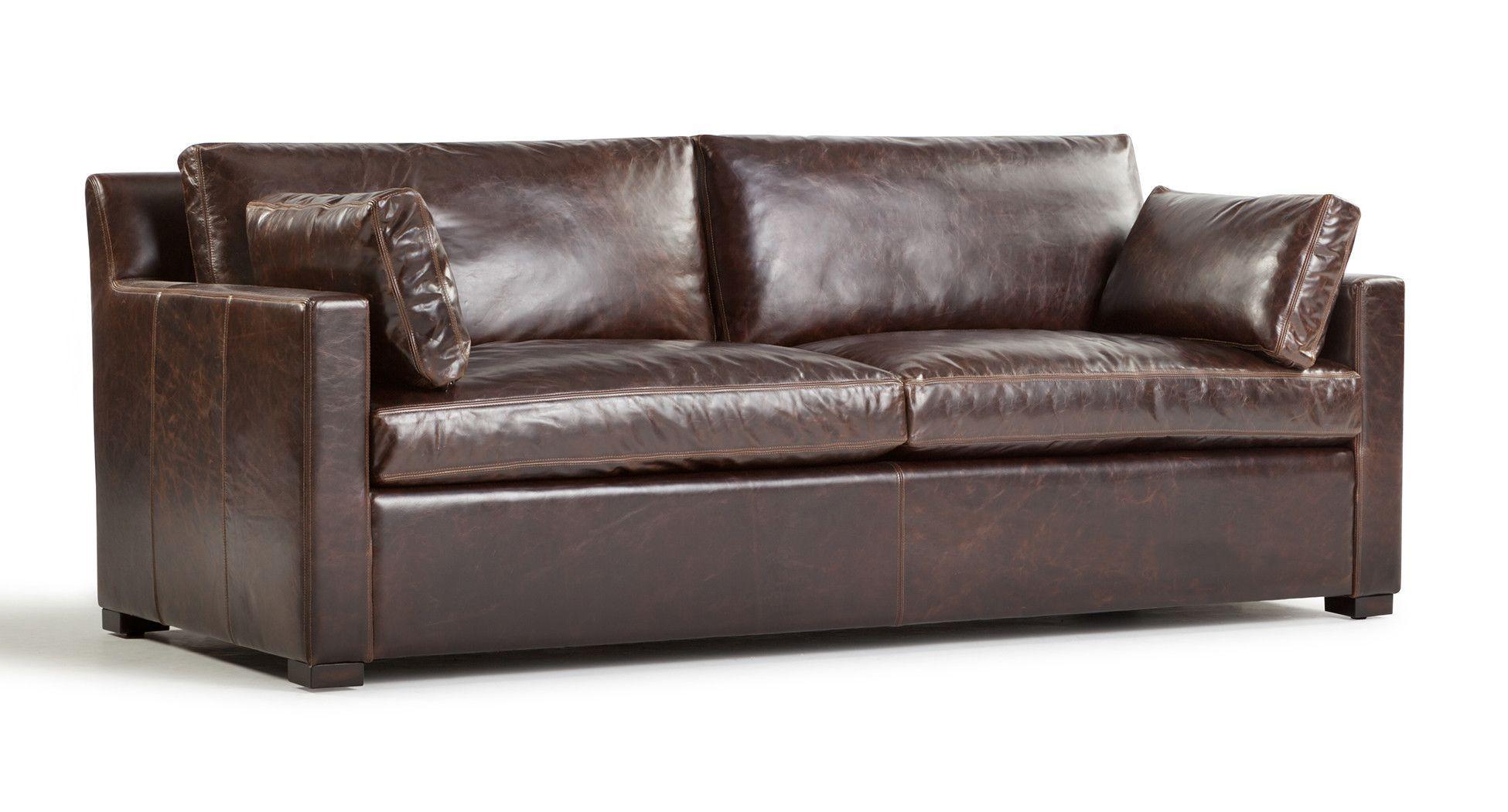 25 melhores ideias de Genuine leather sofa no Pinterest