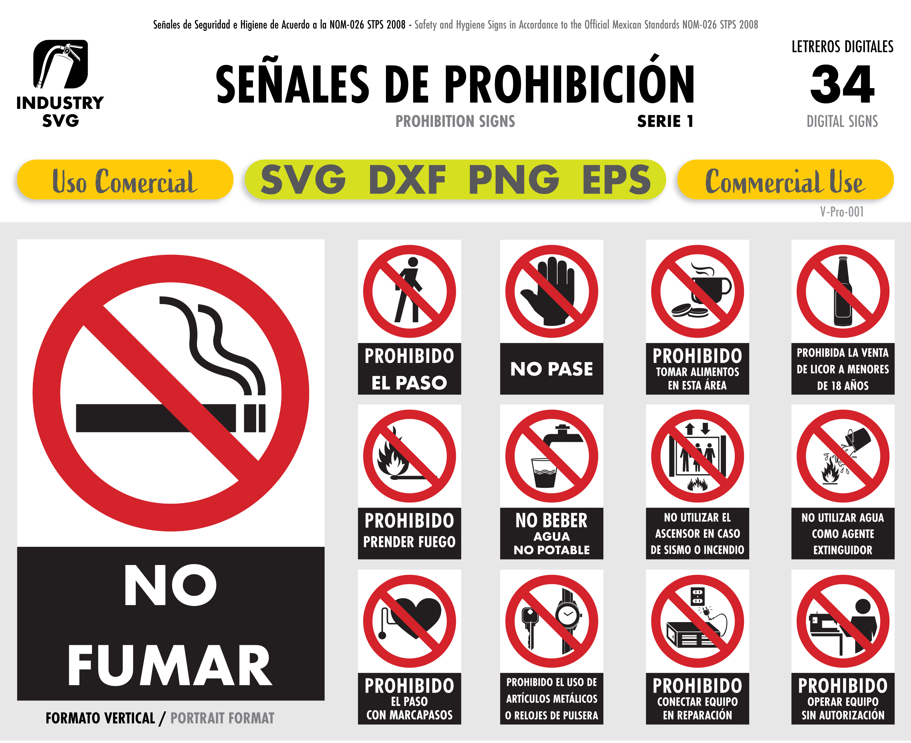 Pin On Prohibition Signs