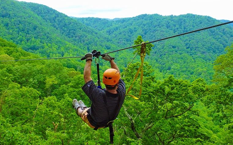 Zipline Rides Are Made In A Purpose Of Giving Adventure Lovers The Most Thrilling Form Of Adrenaline With Th Ziplining Adventure Activities River Adventures