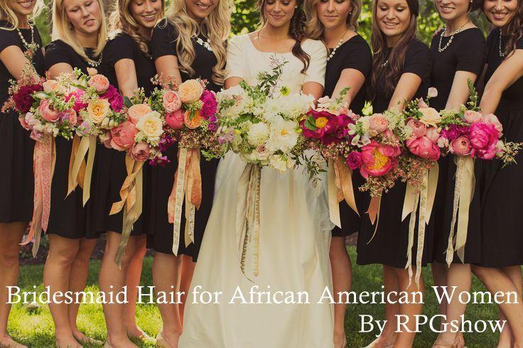 #Bridesmaid Hairstyles for African American Women #bridesmaidhair #rpgshow #bridemaidshair