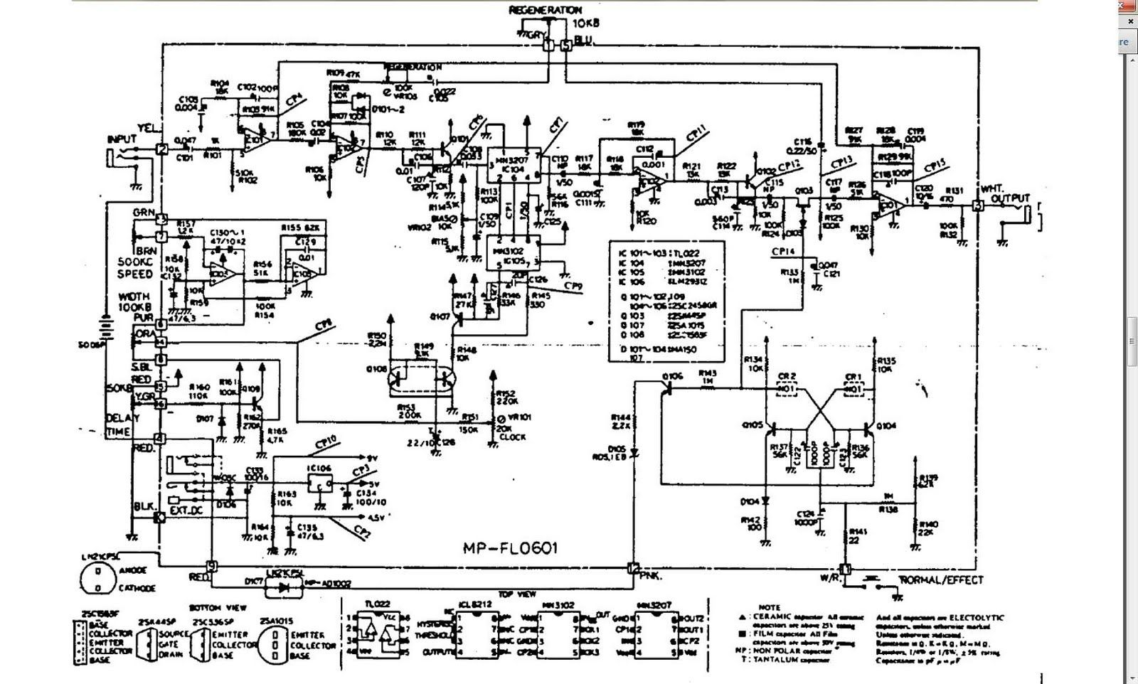 guitar flanger schematics yahoo image search results [ 1600 x 962 Pixel ]