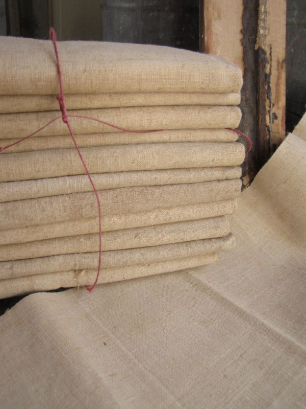 Antique French 19th century linen