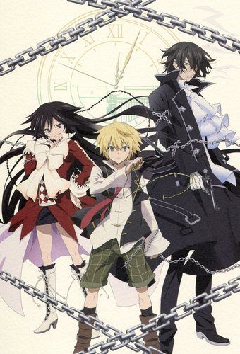 Pandora Hearts big postcard official Japan Oz Vessalius Gilbert Nightray Alice