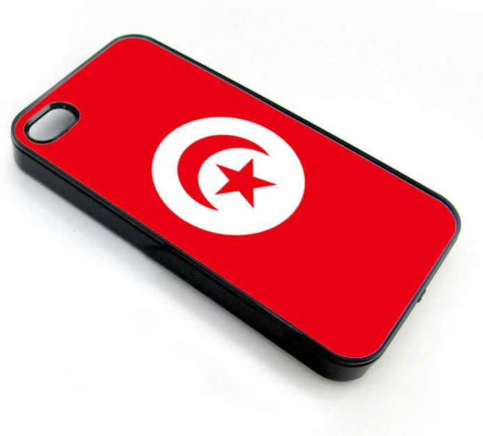 Tunisia Flag - iPhone 4 Case, iPhone 4s