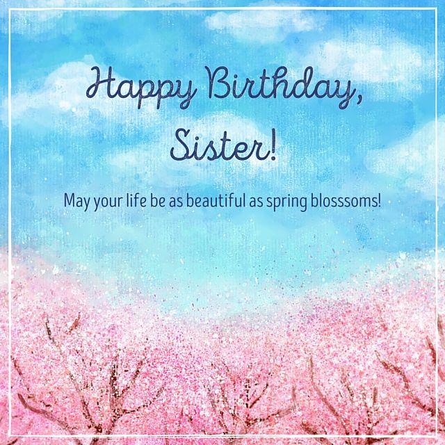 Happy Birthday Sister, Happy