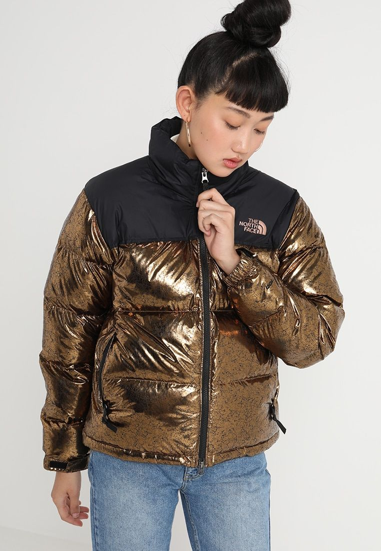 fb5b0fb911 The North Face 1996 RETRO NUPTSE - Down jacket - metallic copper -  Zalando.co.uk