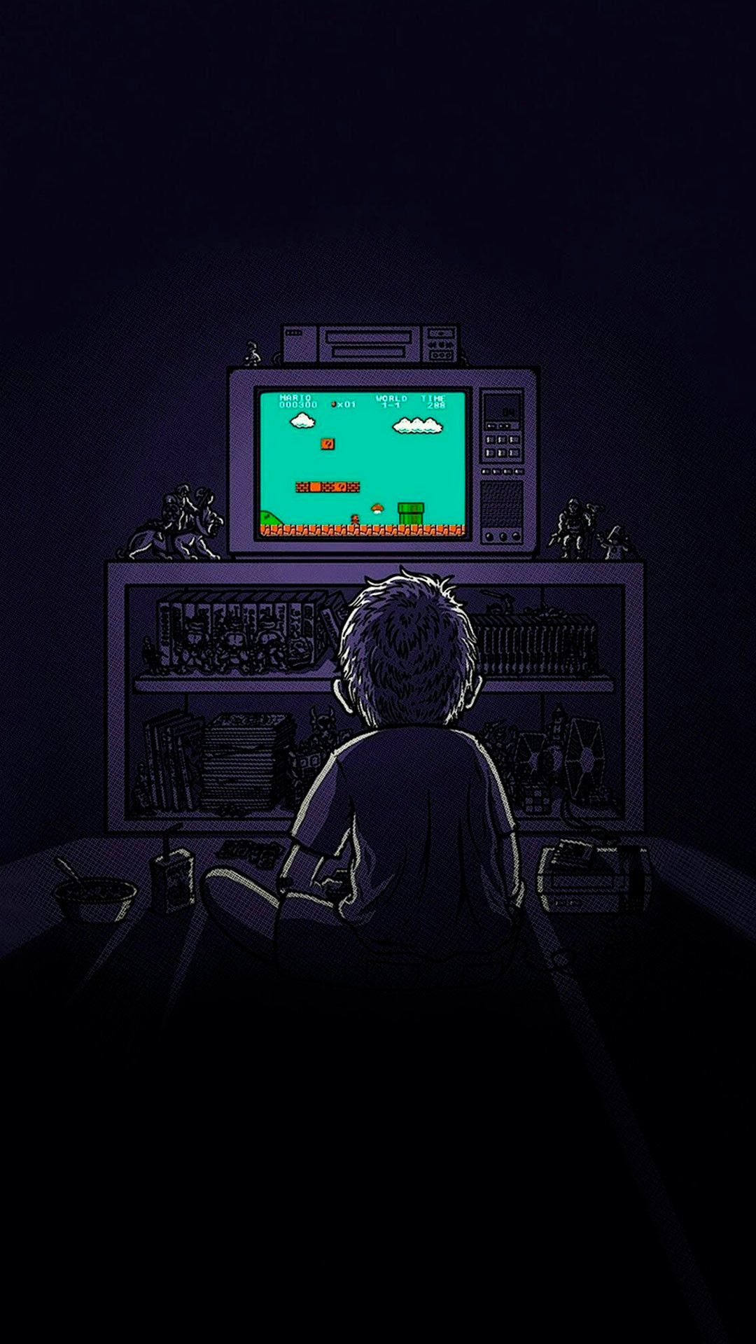 Minimalist Gaming Background Image In 2020 Game Wallpaper Iphone Art Wallpaper Iphone Pop Art Wallpaper
