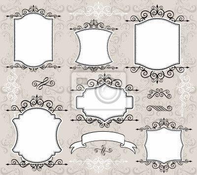 Marcos para cuadros dibujo google search varios for Cuadros decorativos clasicos